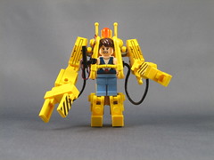 Mini LEGO Power Loader from Aliens (ninbendo) Tags: photoshop movie ellen power lego colonial mini ripley aliens marines loader xenomorph ninbendo ninbend0