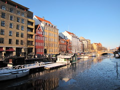 Icy Nyhavn Canal (Alexanyan) Tags: city winter snow cold ice copenhagen denmark boat canal europe tour capital danish icy scandinavia danmark kobenhavn