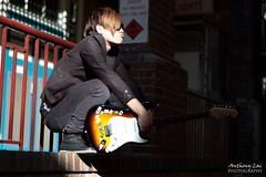 J93 () Tags: street musician music hk rock star james li model performance singer strat