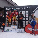 BC Team's Stephanie Gartner comes 4th in Ontario FIS Slalom PHOTO CREDIT: JP Daigneault