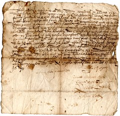 Testimonial for schoolmaster, 1670 (P&KC Archive) Tags: history scotland 17thcentury perthshire ecsochistory workingarchive