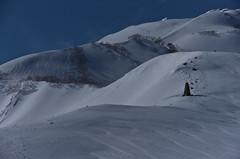 The white and winding ridge (Yoshia-Y) Tags: happoone