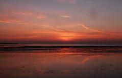 Sunset beach (Explore #7 22/2/13) (GillWilson) Tags: