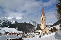 Nauders, Tirol (echumachenco) Tags: schnee winter snow alps church austria schweiz switzerland tirol österreich kirche alpen soe musictomyeyes stvalentin nauders impressedbeauty samnaungruppe mygearandme mygearandmepremium nikond3100 me2youphotographylevel1