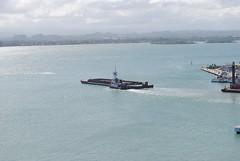 Puerto Rico (Lee Cannon) Tags: water port bay oldsanjuan puertorico tugboat tug barge