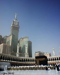 DSC05068_#1_28cmx35cm (yaz1434) Tags: tower clock sony landmark 16mm makkah kabah masjidalharam baitullah nex5