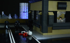 Unsafe Haven (Eric The Red) Tags: lego eu darkwater legoscene legofuturisticmilitary legoforcedperspective thepurgeeu legothepurge