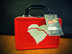"""I Heart SC"" lunch pail (studio.ei8ht.zero) Tags: children design southcarolina merchandise decal lunchpail logomark iheartsc"