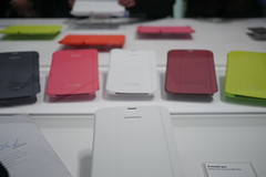 MWC Barcelona 2013 - Samsung Galaxy Note 8.0 covers