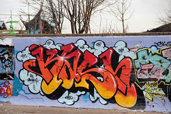 graffiti (wojofoto) Tags: amsterdam graffiti streetart wojofoto ndsm noord kash wolfgangjosten nederland netherland holland