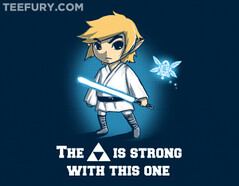 Legend of Jedi (ShirtRater) Tags: light shirt movie t star starwars force geek nintendo tshirt games geeks gaming classics saber link jedi zelda nes fi wars legend sci geeky tees triforce of