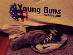 Nike Takedowns (apmears44) Tags: blue white dan speed shoes wrestling 8 nike size gables rare supreme greco sweeps p2s takedowns tyrint uploaded:by=flickrmobile flickriosapp:filter=iguana iguanafilter