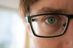Chop Me Up (.WFJ) Tags: blue orange yellow canon glasses eyes n sunny 1d f28 mkii selfie hugoboss blackrims 1635mm 1dmkiin