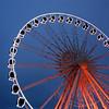 Big Wheel - Brighton (..Peter) Tags: blur square lights sussex nikon brighton dusk illuminated bluehour bigwheel eastsussex nikondx d80 35faves abigfave