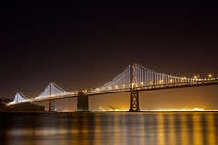 Bay Bridge Lights (tristanotierney) Tags: longexposure bridge night lights bay long exposure baybridge