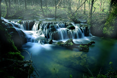 au fil de l'eau (Laurent Delfraissy Photographie) Tags: laurentdelfraissy lot 46 ruisseau canon landscape explore flickr longexposure mouvement blue occitanie panning visualart art
