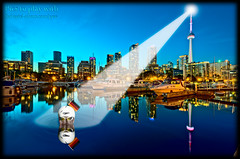 The Lost Swimmer - Klaus! (Pat Kavanagh) Tags: flickr reflexions challenge hdr photomatix bigcitylights patkavanagh klausherrmann thekav