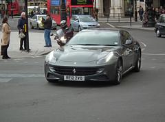 Ferrari FF (kenjonbro) Tags: uk england london westminster grey trafalgarsquare ferrari charingcross sw1 worldcars kenjonbro fujifilmfinepixhs10 re12zvo