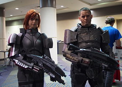 Shepards (Fernando Lenis) Tags: cosplay olympus megacon mass effect pl5 2013