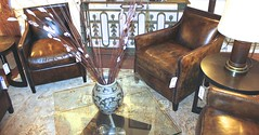 Jean De Merry Leather Club Chair (Design Plus Gallery) Tags: de jean merry chiars