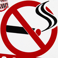 No smoking (Leo Reynolds) Tags: sign canon eos iso800 85mm 7d squaredcircle f80 signsafety signno 0008sec hpexif signnosmoking signcirclebar xleol30x sqset091