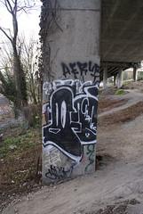 (leftcoastletters) Tags: seattle street city streetart art wall underpass graffiti coast washington paint northwest tag letters spraypaint graff aerosol westcoast eastlake kingcounty lcl leftcoast ephemeralart bestcoast leftcoastletters httplftcoastletterscom