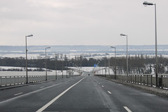 The road to Rouen (Neil Pulling) Tags: road france seine motorway normandie autoroute normandy roadway lehavre seinemaritime hautenormandie tancarville