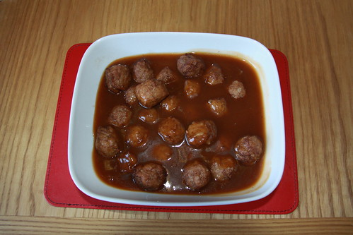 Swedish Meat Balls & Sainsbury Gravy