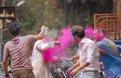 """dhua dhua"" ([s e l v i n]) Tags: life india color colors festival fun happy colours candid enjoy holi enjoyment baroda gujarat masti holifestival vadodara indianfestival festivalsofindia festivalofcolors selvin"