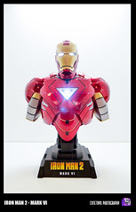 Ironman (ArchLancer) Tags: toys ironman figure productphotography markiv hottoys 1442mm ironman2 toysphotography lumixg1 cutetoysphotography