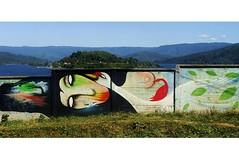 Silencio la tierra va a dar a luz un àrbol... (Felipe Smides) Tags: mural niebla valdivia smides felipesmides
