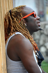 Sly (Heidi Zech Photography) Tags: man dreadlocks jamaica dread jamaican jamaicanman jamaicanphotos jamaicanphotography coloreddreadlocks