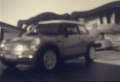 its a mini pinhole thing (joe_relic37) Tags: white black colour slr analog 35mm canon eos diy stand long exposure cross pinhole 200 vista plus analogue 300 agfa rodinal processed development canoscan bodycap adonal 9000f
