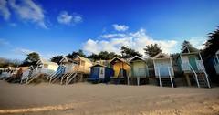 Beach Huts (Norfolk & Beyond) Tags: uk coast norfolk wells beachhuts nextthesea