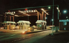 Turner Turnpike, Tulsa OK (SwellMap) Tags: street night vintage dark advertising marquee evening design pc 60s neon fifties postcard suburbia style kitsch retro nostalgia chrome 1950s postcards americana 50s 1960s roadside googie populuxe sixties babyboomer consumer coldwar midcentury spaceage atomicage