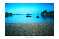 blue night (Emmanuel DEPARIS) Tags: beach st pose nikon bretagne perros plage emmanuel longue guirec deparis guirrec