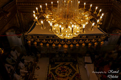 Inside of Harmandir Sahib (The world through my viewfinder) Tags: india sikh amritsar sikhism goldentemple punjabi harmandirsahib gurugranthsahib harmindersahib akaltakht insidegoldentemple