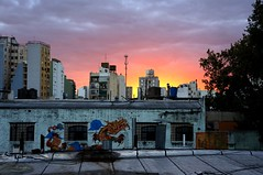 "Sunset in San Telmo (and a Dragon) • <a style=""font-size:0.8em;"" href=""http://www.flickr.com/photos/94329335@N00/8619378271/"" target=""_blank"">View on Flickr</a>"