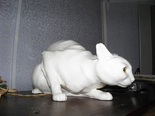 Фарфоровый кот // Porcelain cat ©  alexyv