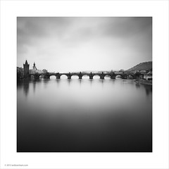 Charles Bridge, Prague (Ian Bramham) Tags: bridge river prague bridges charlesbridge vltava karlvmost ianbramham