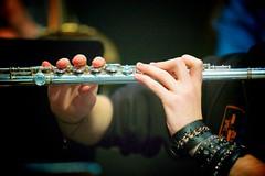 Flûte et main de fer / Flute and iron fist (Napafloma-Photographe) Tags: musique arcenciel musicien 2013 répétition flûtetraversière flûte 150ansdelharmonie harmoniedeliévin