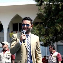 Rafic Hariri University open house2013, Mechref campus (Lama S. Riman) Tags: lebanon celebrity ziadbourji