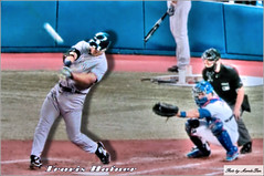 Travis Hafner - NY Yankees (Mambo'Dan) Tags: baseball yankees boysofsummer newyorkyankees mlb hardball travishafner