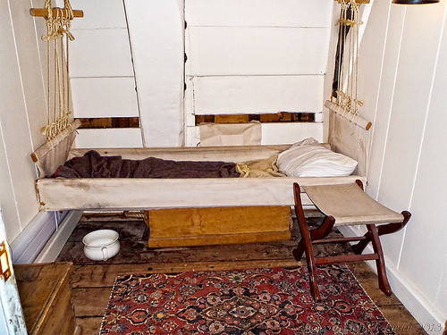 Officers cabin HMS Trincomalee