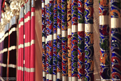POLES OF UMBRELLAS (PRATHAPSTOCKIMAGE) Tags: india elephant festival canon religion decoration kerala trissur pooram nettipattom eos60d