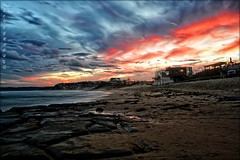 Bar Beach Sunset (paulhollins) Tags: sunset newcastle australia newsouthwales barbeach nikond600 paulhollins