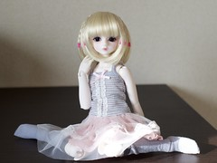 Flower Tulle Bory - 1 (whileimautomaton) Tags: doll luts bory kiddelf