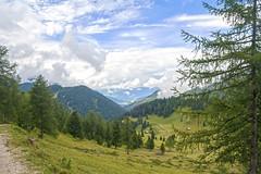 Funes_14_108 (MDario65) Tags: valle cielo sentiero alto alpi montagna trentino dolomiti tirolo adige nubi funes boschi odle