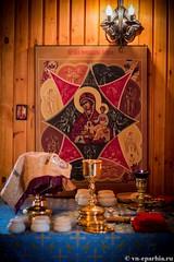 Божественная литургия в пос.Котово 100