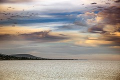 Badacsony (kareszzz) Tags: balaton badacsony summer 2016 ef24105 canon6d waves lake june sky clouds colours hills sunset calm 6d travelphotography